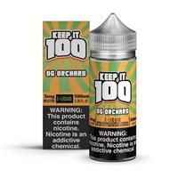 Peachy Punch by Keep it 100 E-Liquid 100mL