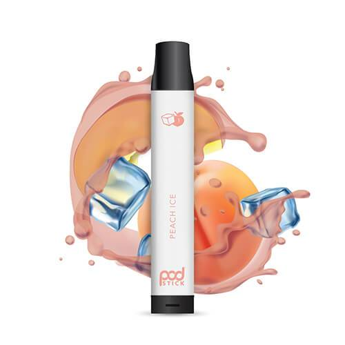 Pod 2500 - Disposable Vape Device - Peach Ice - Single / 55mg