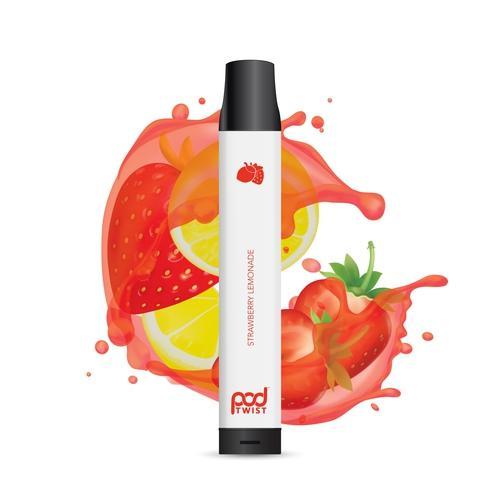 Pod Juice Twist 2500 Disposable (5.5%) - 1 Bar - Strawberry Lemonade