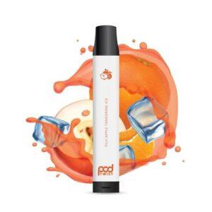 Pod Juice Twist 2500 Disposable (5.5%) - Box of 10 - Fuji Apple Tangerine Ice