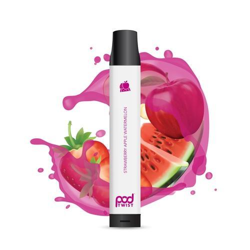 Pod Juice Twist 2500 Disposable (5.5%) - Box of 10 - Strawberry Apple Watermelon