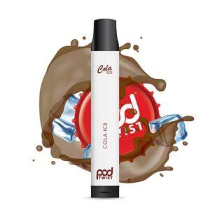 Pod Twist 2500 - Disposable Vape Device - Cola Ice - Single / 55mg