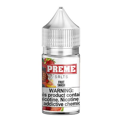 Preme eLiquids Salt Nic - Fruit Smash - 30ml / 25mg