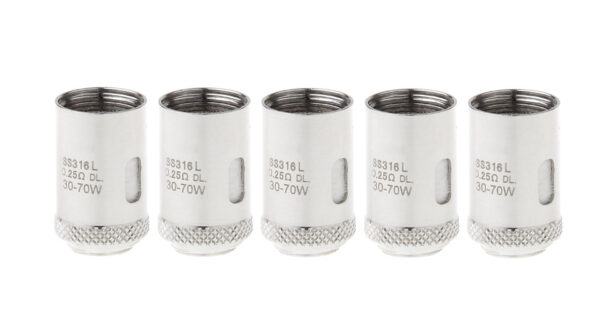 Replacement 316L Stainless Steel Coil Head for Joyetech Cubis Pro Tank (5-Pack)