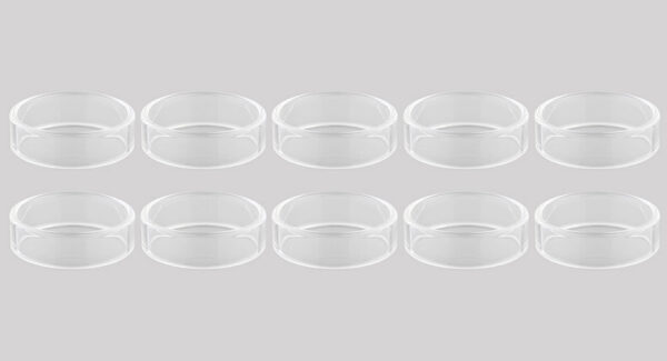 Replacement Glass Tank for Blitzen RTA Atomizer (10-Pack)