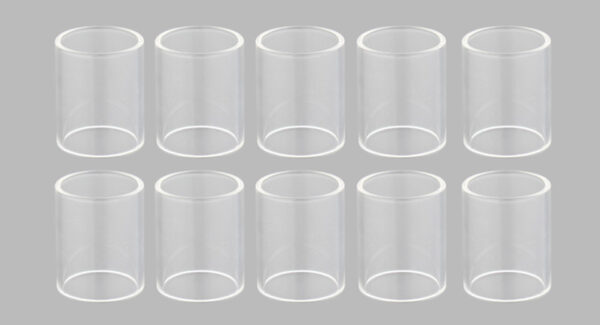 Replacement Glass Tank for Coppervape Skyline RTA Atomizer (10-Pack)