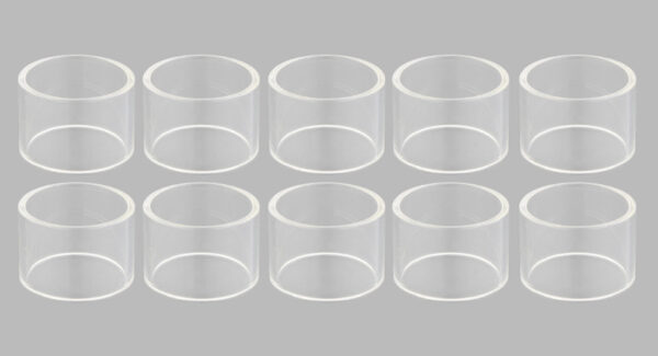 Replacement Glass Tank for Eleaf iJust 2 Mini Clearomizer (10-Pack)