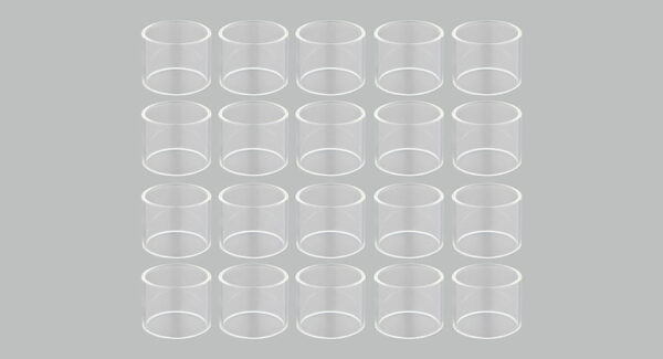 Replacement Glass Tank for GeekVape Ammit Dual Coil RTA Atomizer (20-Pack)