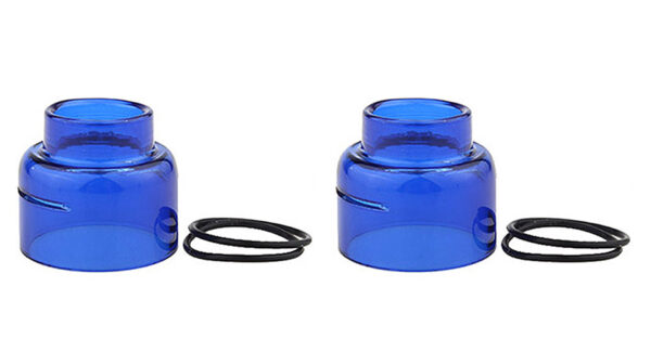 Replacement Glass Tank for Goon RDA Atomizer (2-Pack)