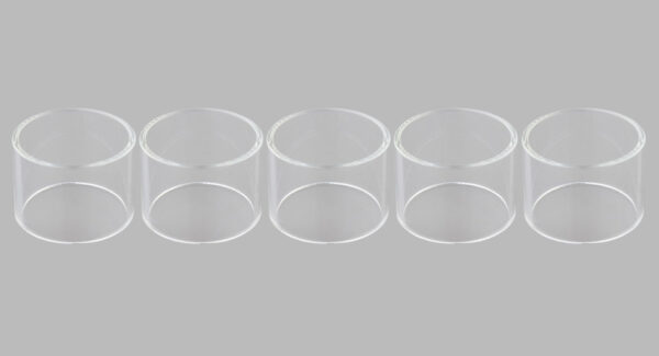 Replacement Glass Tank for JuggerKnot RTA Atomizer (5-Pack)