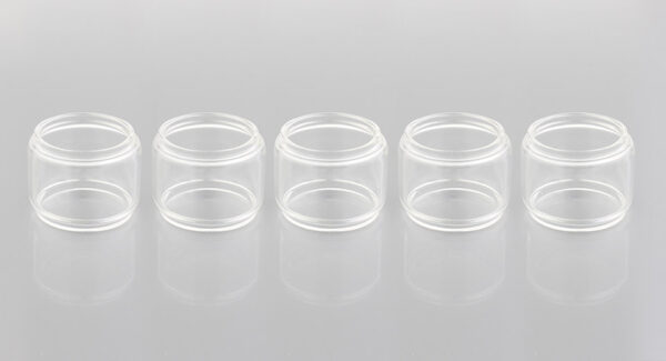 Replacement Glass Tank for KYLIN Mini RTA Atomizer (5-Pack)