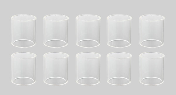 Replacement Glass Tank for KangerTech SUBTANK Mini-C Clearomizer (10-Pack)