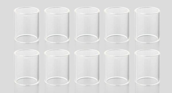Replacement Glass Tank for KangerTech Toptank Nano Clearomizer (10-Pack)