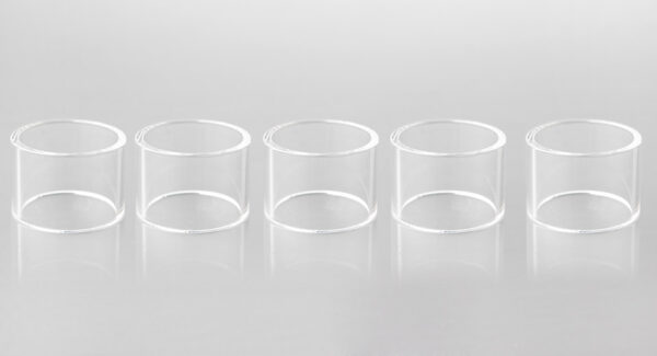 Replacement Glass Tank for Nectar RDA Atomizer (5-Pack)