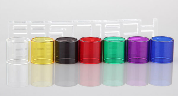 Replacement Glass Tank for OBS ACE Clearomizer (7 Pieces)