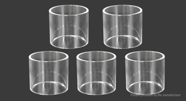 Replacement Glass Tank for Prime Atomizer (5-Pack)