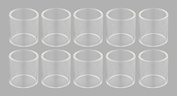 Replacement Glass Tank for SMOK TFV12 Prince Clearomizer (10-Pack)