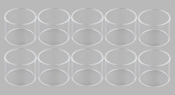 Replacement Glass Tank for SMOK TFV8 Baby V2 Clearomizer (10-Pack)