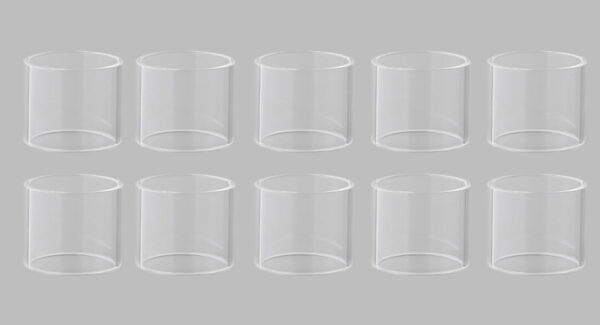 Replacement Glass Tank for SMOK TFV8 Big Baby Clearomizer (10-Pack)