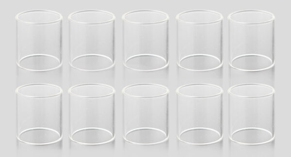 Replacement Glass Tank for Smoktech SMOK TFV8 Clearomizer (10-Pack)