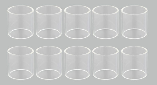 Replacement Glass Tank for Tobeco Mini Super Tank Clearomizer (10-Pack)
