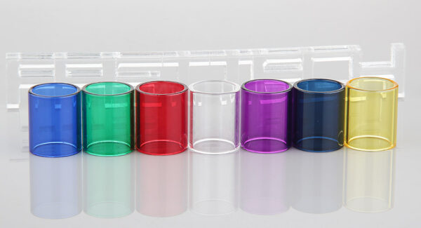 Replacement Glass Tank for Toptank Nano Clearomizer (7 Pieces)
