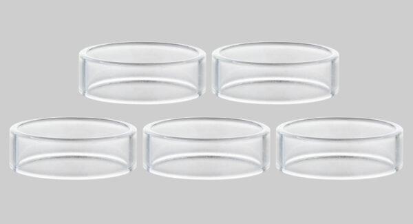 Replacement Glass Tank for Vandy Vape Berserker MTL RTA (5-Pack)