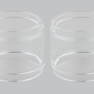 Replacement Glass Tank for Wotofo Bravo RTA Atomizer (2-Pack)