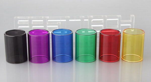 Replacement Glass Tank for Youde UD Zephyrus V2 Clearomizer (6 Pieces)