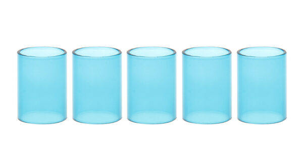 Replacement Glass Tank for Zephyrus Clearomizer (5-Pack)