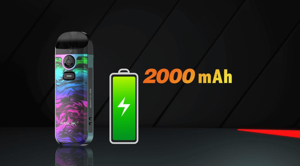 SMOK NORD 4 battery image