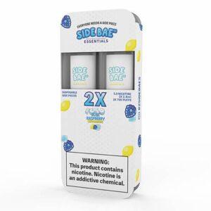 Side Bae - Disposable Vape Device Twin Pack - Iced Blue Raspberry Lemonade - Twin Pack / 50mg