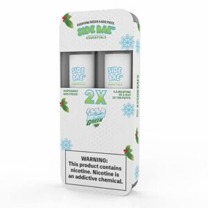 Side Bae - Disposable Vape Device Twin Pack - Iced Winter Green - Twin Pack / 50mg