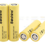 Soshine IMR 18650 3000mAh Rechargeable Li-ion Battery (4-Pack)