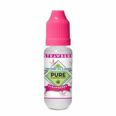 Strawberry Bliss CBD Vape Juice 10ml 25mg
