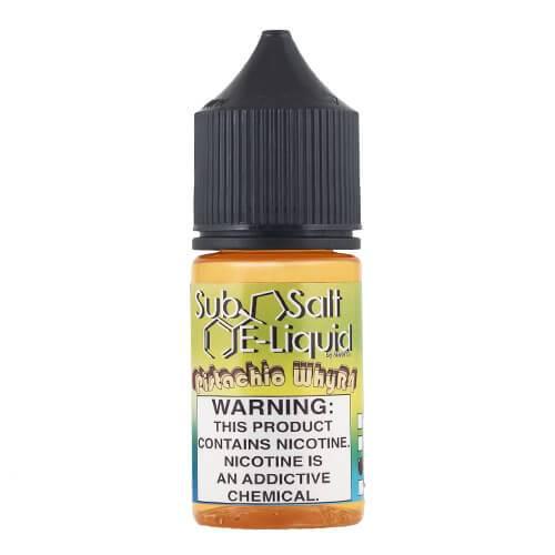 SubSalt E-Liquid - Pistachio WhyR4 - 30ml / 10mg