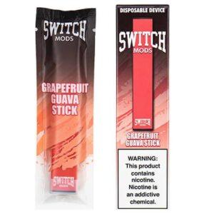 Switch Mods - Disposable Vape Device - Grapefruit Guava - 1.3ml / 50mg