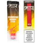 Switch Mods - Disposable Vape Device - Strawberry Banana - 1.3ml / 50mg