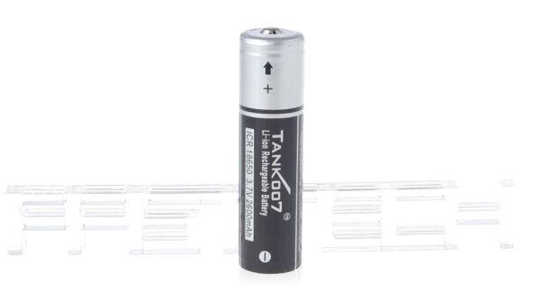 TANK007 ICR 18650 3.7V 2600mAh Rechargeable Li-ion Battery