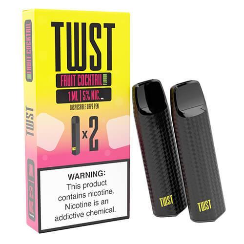 TWST - Disposable Vape Pen Twin Packs - Fruit Cocktail - 1ml / 50mg