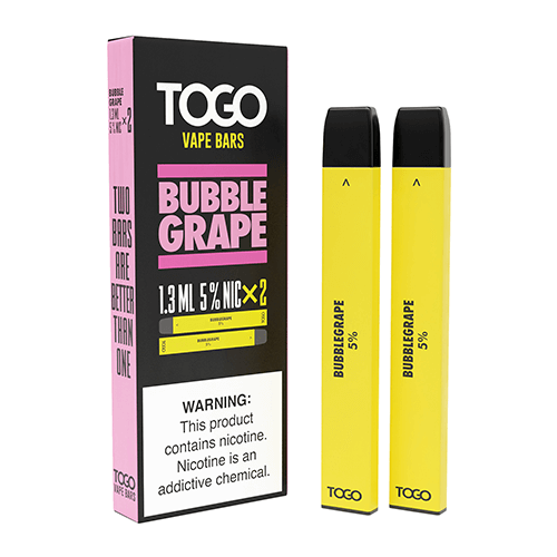 TWST TOGO - Disposable Vape Device Twin Pack - Bubblegrape - 2 Pack / 50mg