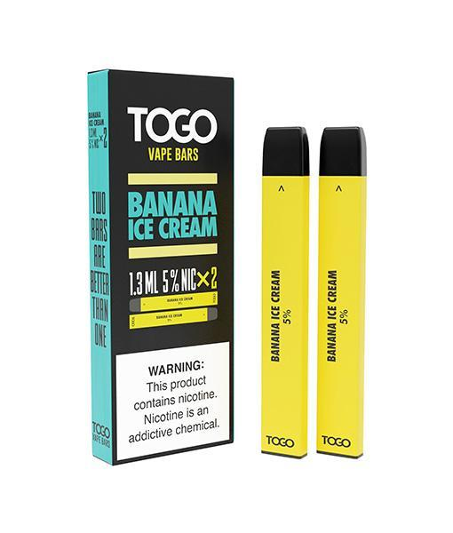 TWST TOGO Disposables 2-Pack - Banana Ice Cream 5%