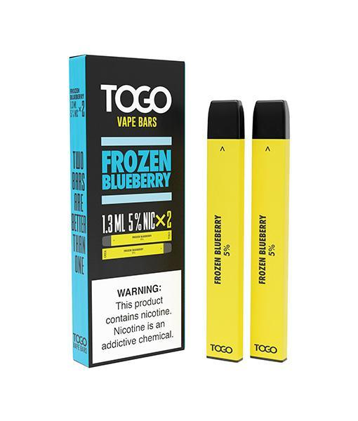 TWST TOGO Disposables 2-Pack - Frozen Blueberry 5%