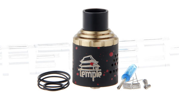 Temple Styled RDA Rebuildable Dripping Atomizer