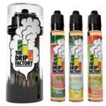The Drip Factory E-Liquid - Collection - 90ml (3 x 30ml) / 0mg