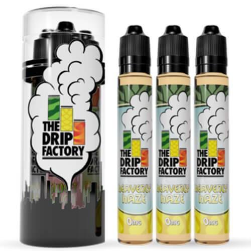 The Drip Factory E-Liquid - Heavenly Haze - 90ml (3 x 30ml) / 0mg