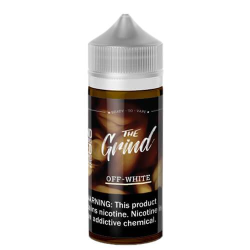 The Grind E-Liquids - Off White (Vanilla Latte) - 100ml / 0mg