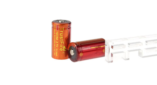 TrustFire IMR 18350 3.7V 700mAh Rechargeable Li-ion Battery (2-Pack)