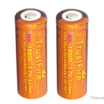 TrustFire IMR 18500 3.7V 1100mAh Rechargeable Li-ion Battery (2-Pack)