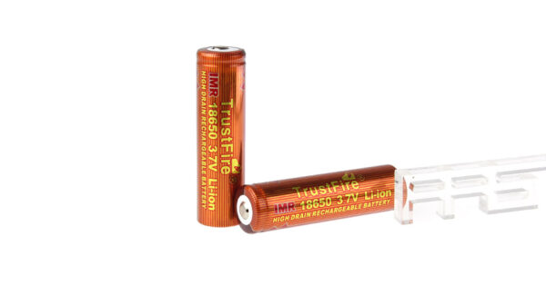 TrustFire IMR 18650 3.7V 1500mAh Rechargeable Li-ion Battery (2-Pack)